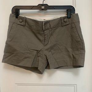 Grey Khaki Shorts - Size 6